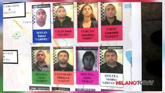19 tigani romani, arestati in Milano pentru proxenetism. Aduceau adolescente din Romania pe care le obligau sa se prostitueze