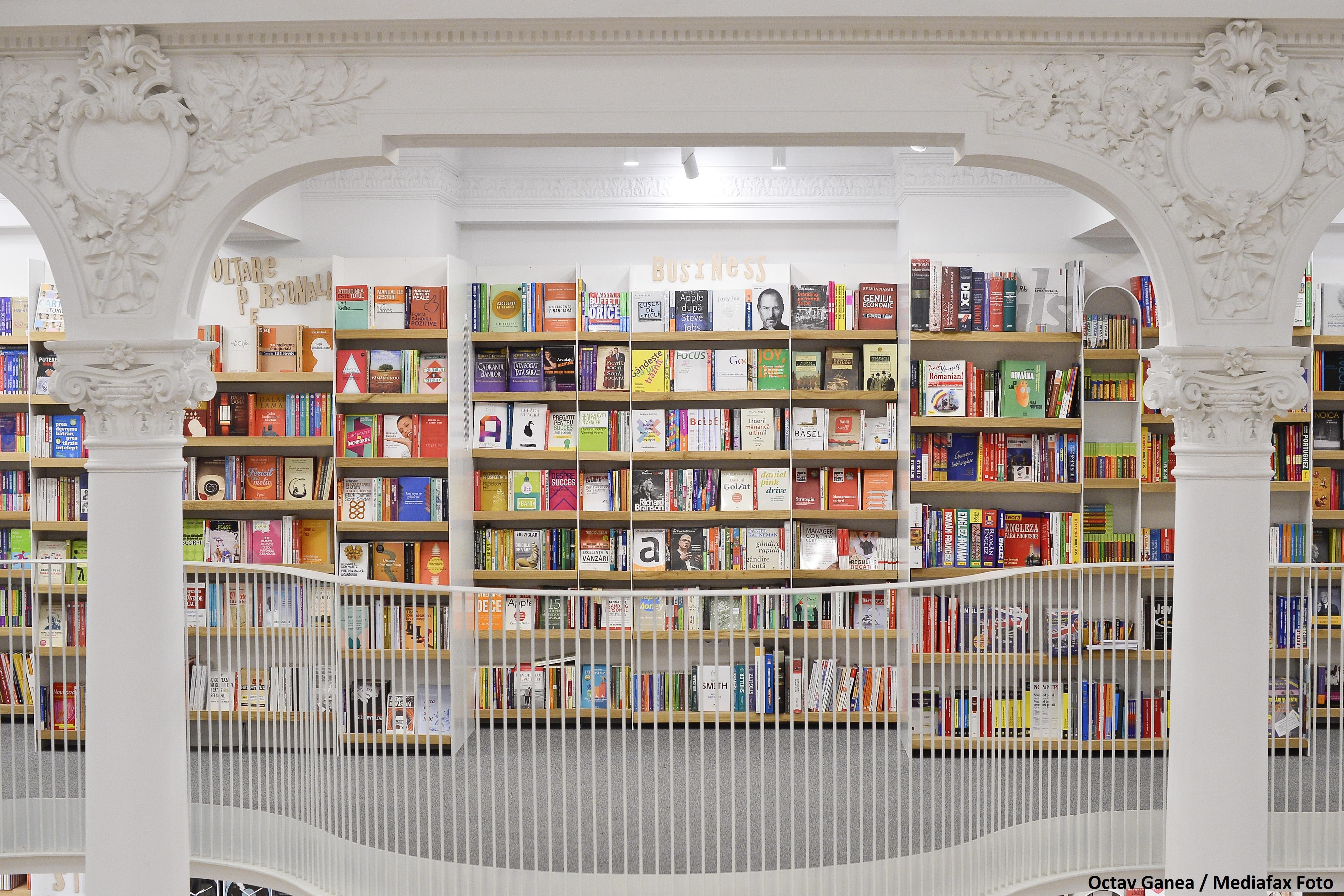 Carturesti Carusel: De la palatul confiscat de comunisti, la cea mai mare librarie din Romania, cu 10.000 de volume