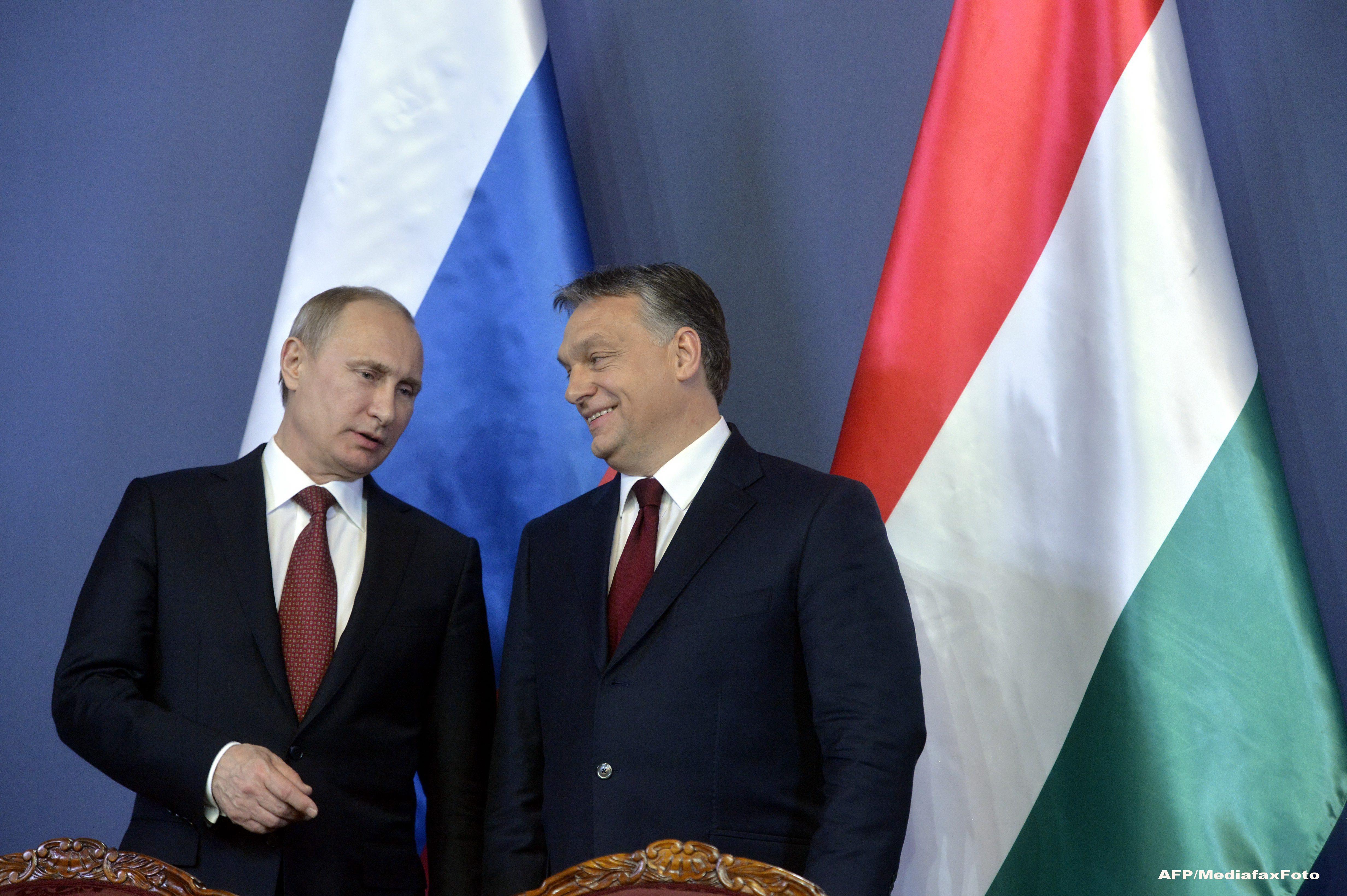 Putin a discutat cu usile inchise cu Viktor Orban. Expertii unguri merg in Rusia pentru pregatire in domeniul nuclear