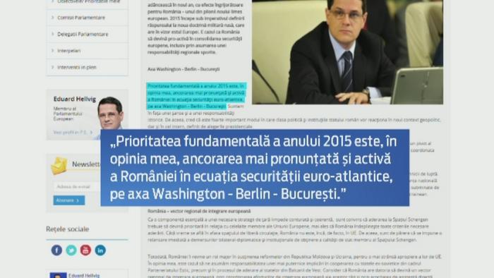 Cum vede Eduard Hellvig, nominalizat la sefia SRI, viitorul securitatii Romaniei: