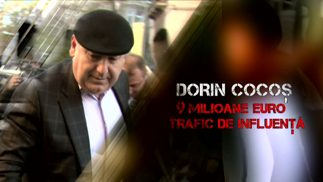 Dorin Cocos ar putea sa plece acasa in urma denunturilor facute la DNA. Firul marturisirilor duce pana la Vasile Blaga