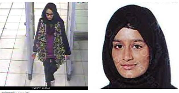 Mireasa jihadistă și alți 150 de teroriști ISIS se pot întoarce în UK.