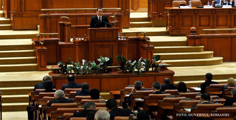 Ponta, intrebat daca renunta la doctorat, dupa votul privind modificarile la Legea Educatiei: Daca nu imi mai da voie legea?