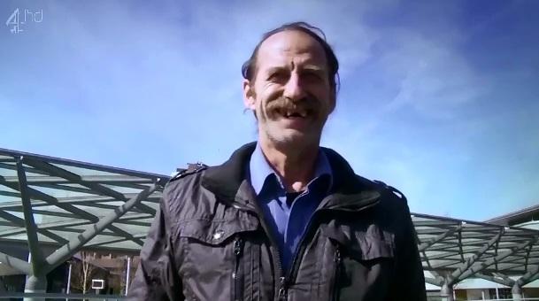 Anglia vazuta de Sandu, unul dintre protagonistii documentarului