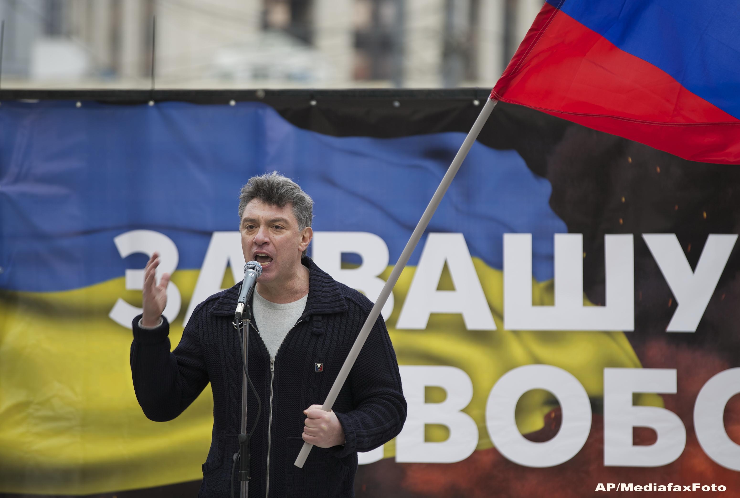 Cine a fost Boris Nemtov, adversarul lui Putin. Ce a declarat intr-un interviu la radio, chiar inainte sa fie ucis