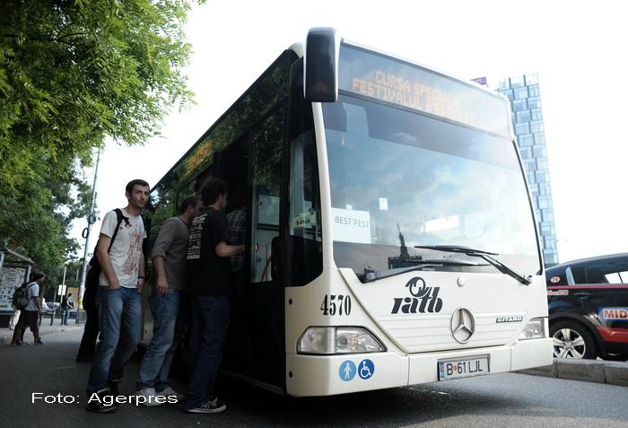 Programul de Paste al Metrorex si RATB. Autobuzele care merg spre Mitropolie vor circula toata noaptea de Inviere
