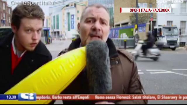 Reactia unui reporter