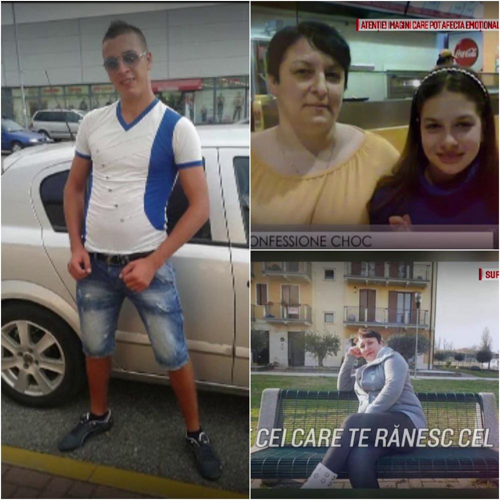 Romanul care si-a ucis mama si sora de 11 ani in Italia risca inchisoare pe viata. Mesajul postat de femeie inainte de crima