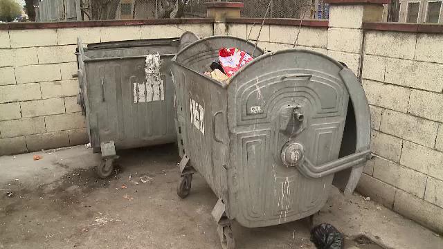 Descoperirea cutremuratoare facuta de un om al strazii la o ghena de gunoi din Arad. Politia a inceput o ancheta