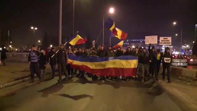 Mii de oameni au protestat din nou in toata tara: 1000 de oameni in Sibiu. Manifestatii ample, anuntate pentru weekend