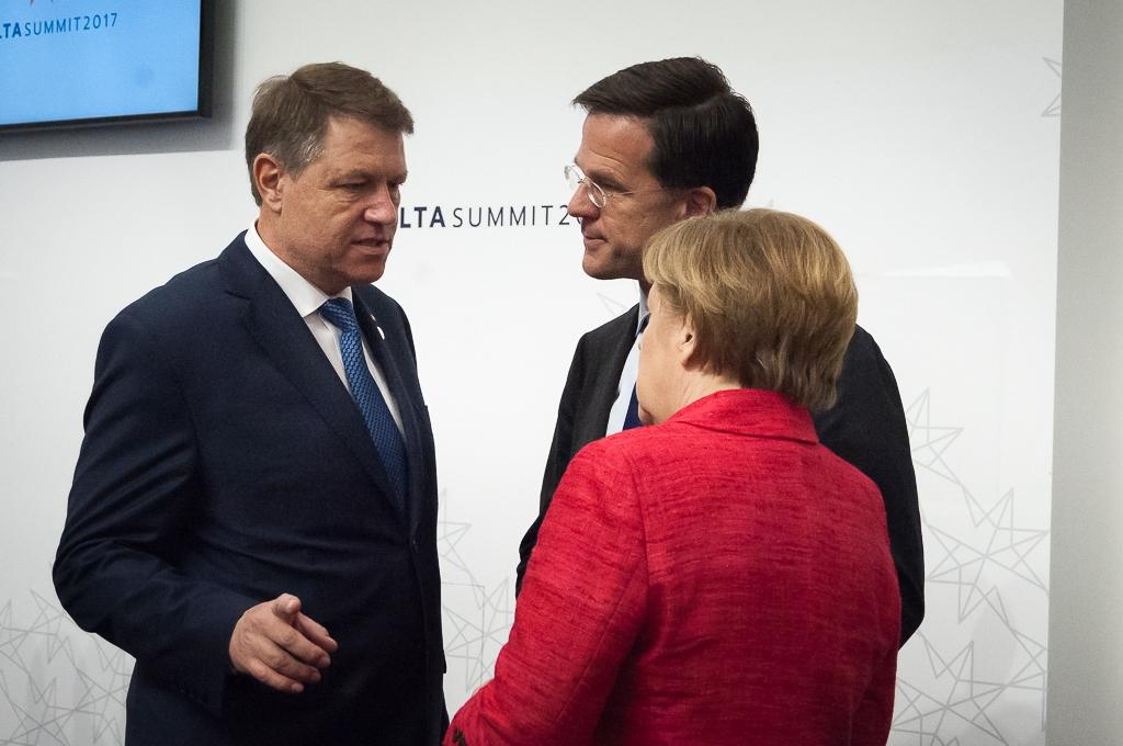 Iohannis dupa intalnirea din Malta: Toti liderii europeni sunt interesati si ingrijorati de ce se intampla in Romania