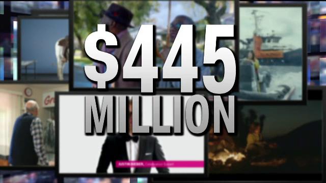 Bilantul fabulos al Superbowl: 1,3 mld. dolari din vanzari de aripioare, 167.000 de dolari pe secunda de publicitate