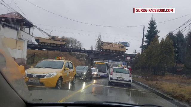 500 de soldati americani vin in Romania. Militarii aduc cu ei zeci de tancuri, mortiere si vehicule de lupta