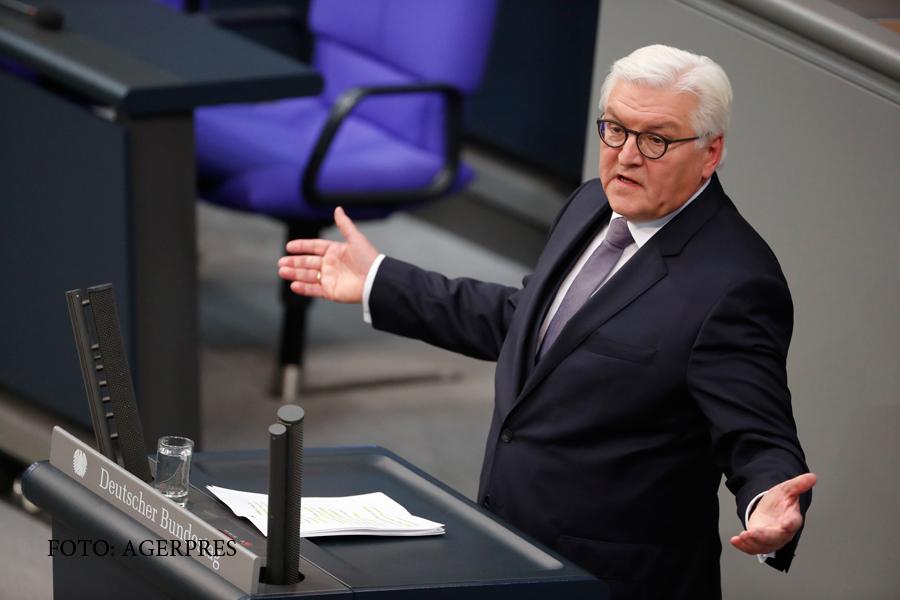 Frank-Walter Steinmeier a fost ales presedinte al Germaniei. Reactia lui Vladimir Putin