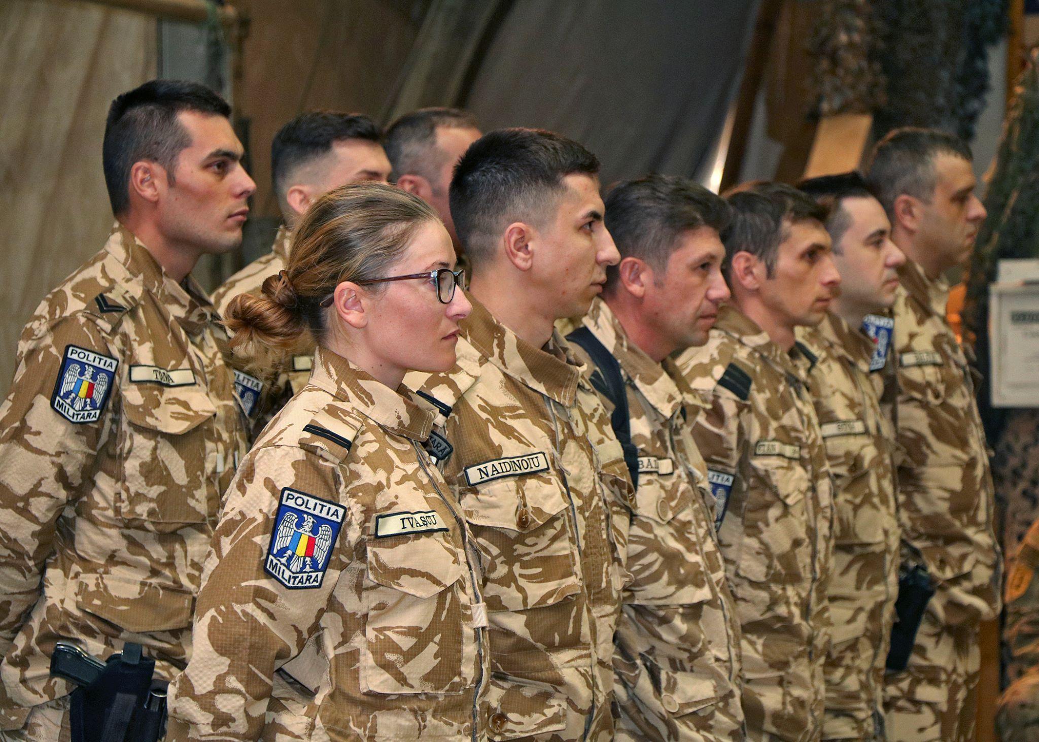 Primul detasament romanesc comandat de o femeie s-a intors din Afganistan. Misiunile la care a participat in Bagram
