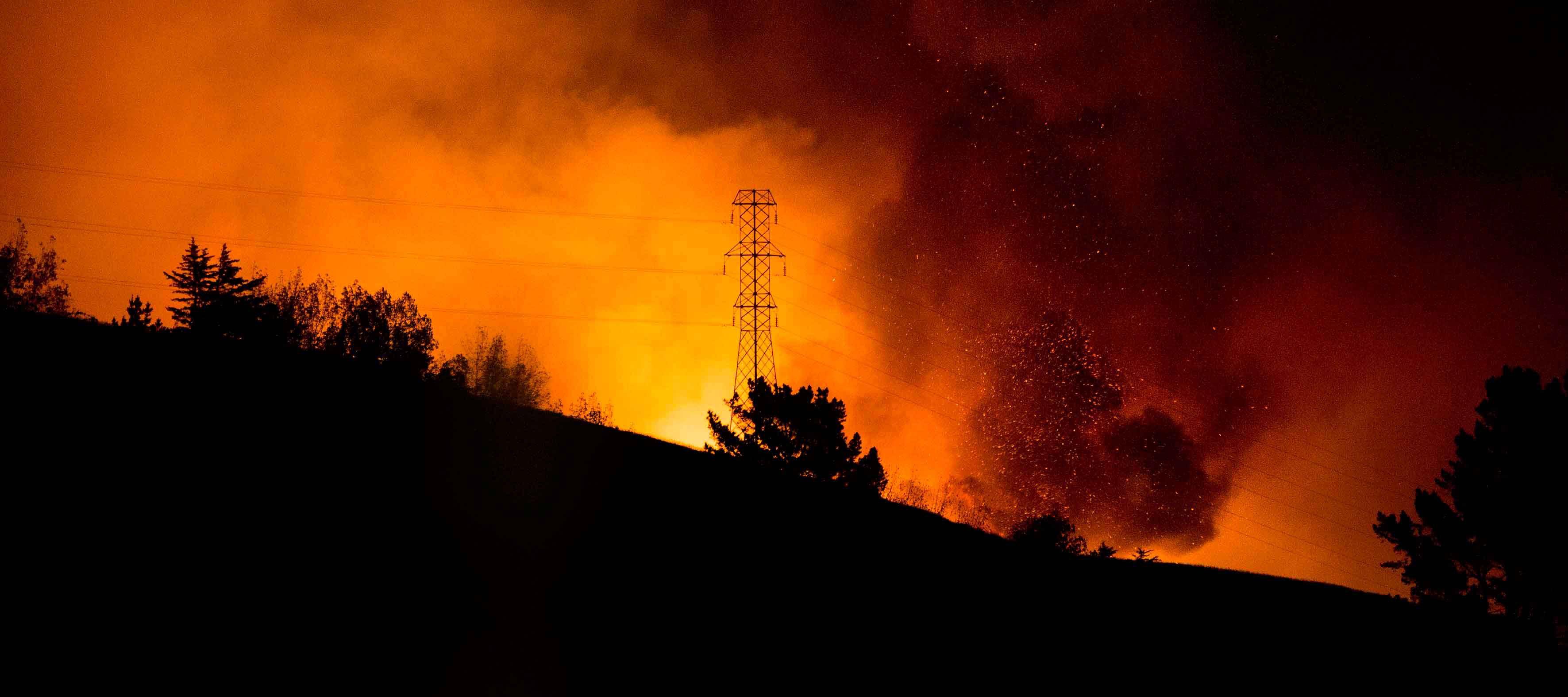 Stare de urgenta in Noua Zeelanda, din cauza unui incendiu de vegetatie.1000 de locuitori au fost evacuati