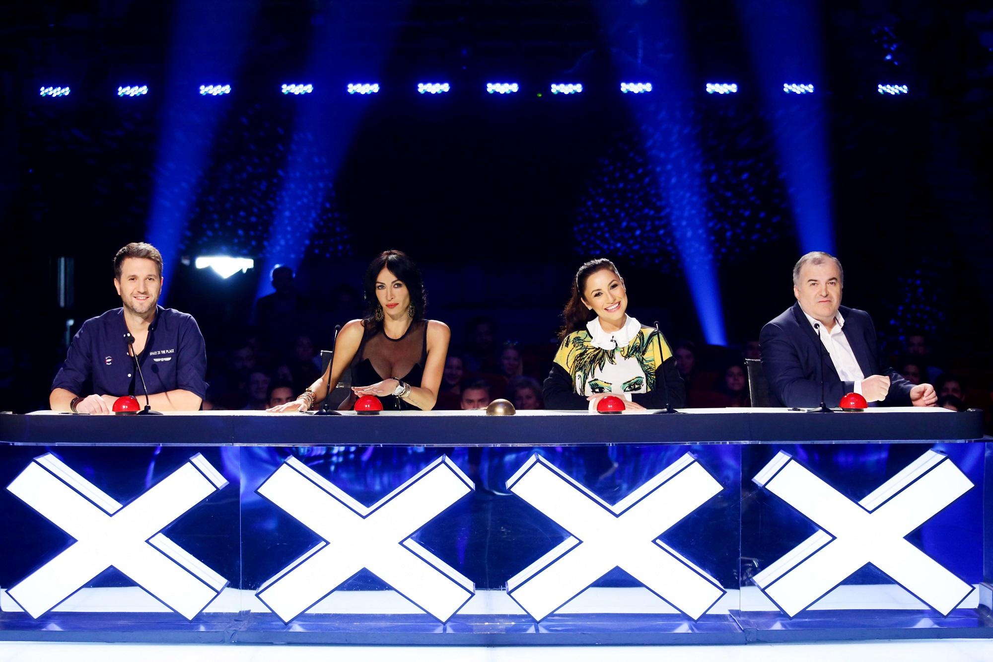Peste 3,5 milioane de telespectatori au urmarit Romanii au talent. Show-ul a fost lider absolut de audienta, vineri seara