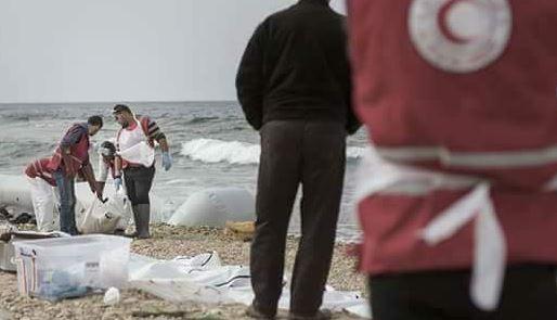 74 de migranti morti, gasiti de Crucea Rosie pe o plaja din Libia. Acestia voiau sa traverseze Marea Mediterana