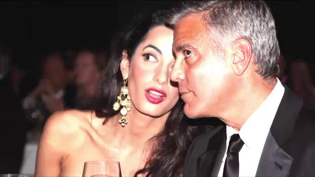 George Clooney da in judecata revista franceza Voici pentru publicarea primei fotografii cu gemenii sai