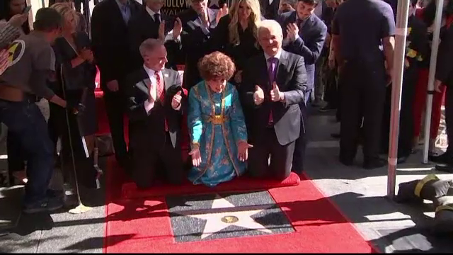 Gina Lollobrigida a primit, la 90 de ani, o stea pe Walk of Fame