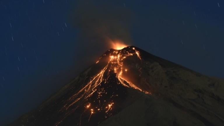 Vulcanul Fuego a erupt, în Guatemala