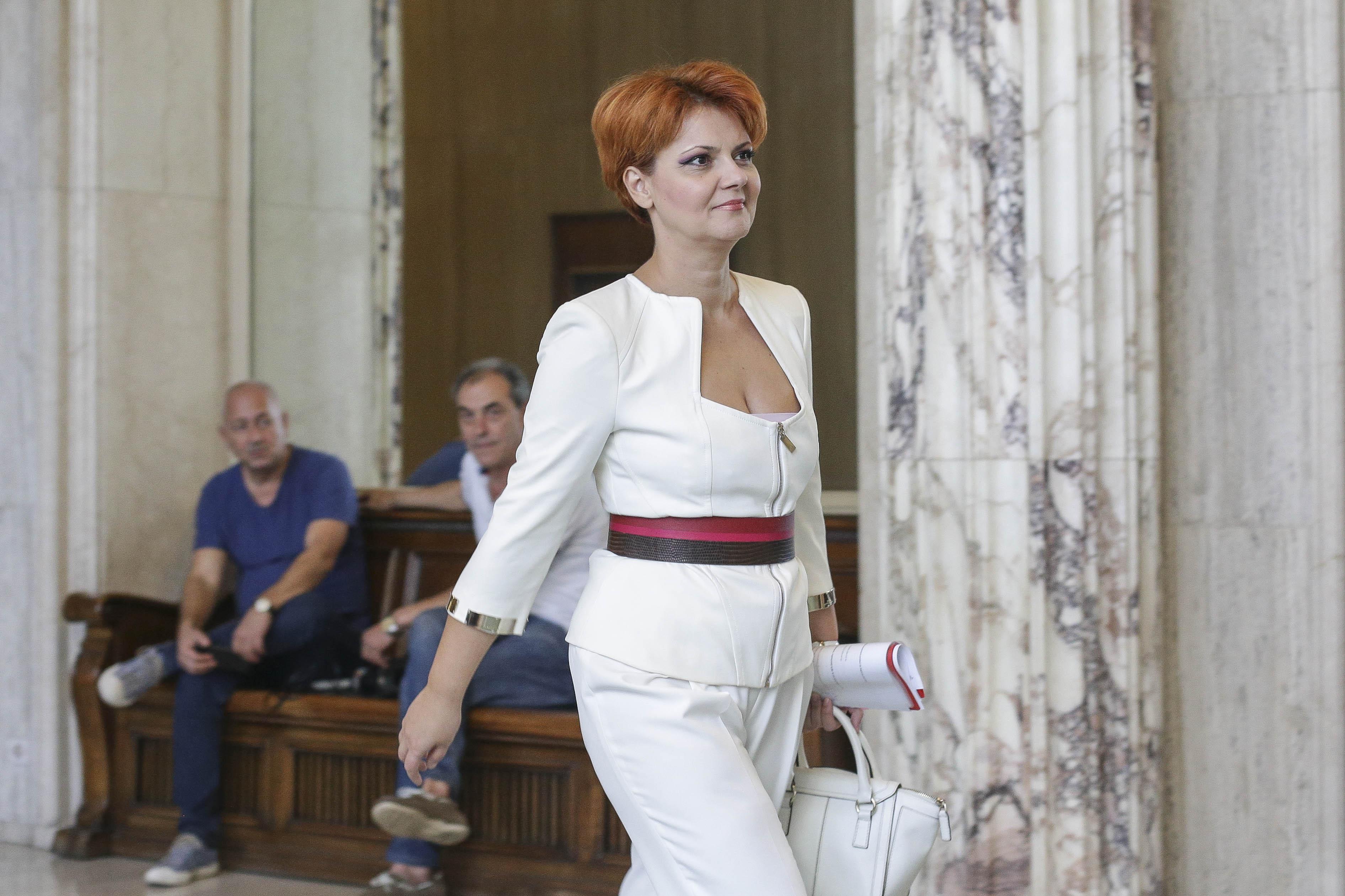 Lia Olguța Vasilescu, la Parchetul General, pentru a da declarații despre dosarul Tel Drum