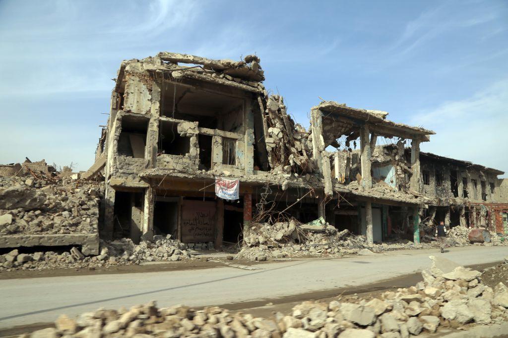 Imagini apocaliptice din Mosul, orașul distrus de războiul cu Statul Islamic