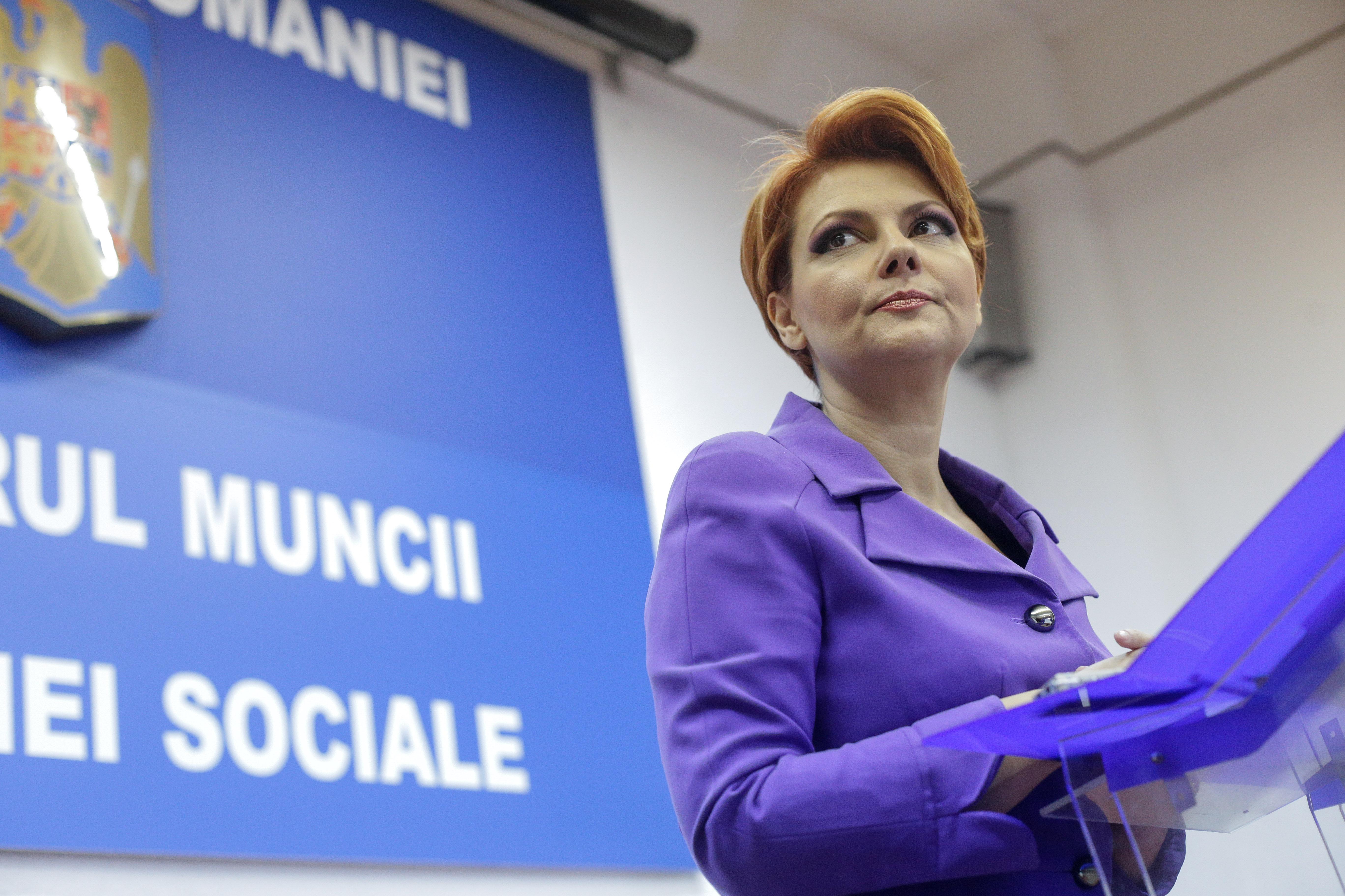 """Lia Olguţa Vasilescu a anunţat că Pilonul II de pensii va fi opţional: """"E bătut în cuie"""""""