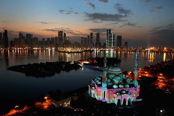 Imagini captivante de la Festivalul Luminii din Emiratele Arabe Unite