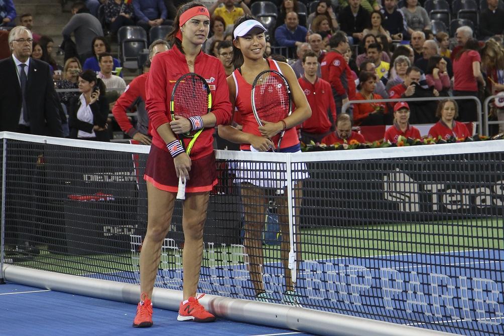 Tenismenele noastre au învins Canada şi s-au calificat la barajul pentru Fed Cup