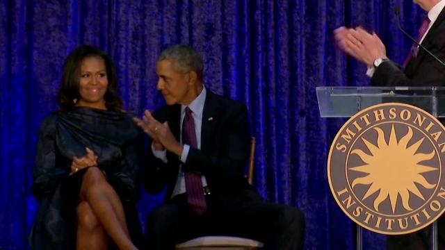 """Portretele oficiale ale lui Barack și Michelle Obama. """"Am încercat să negociez mai puțin păr cărunt"""""""