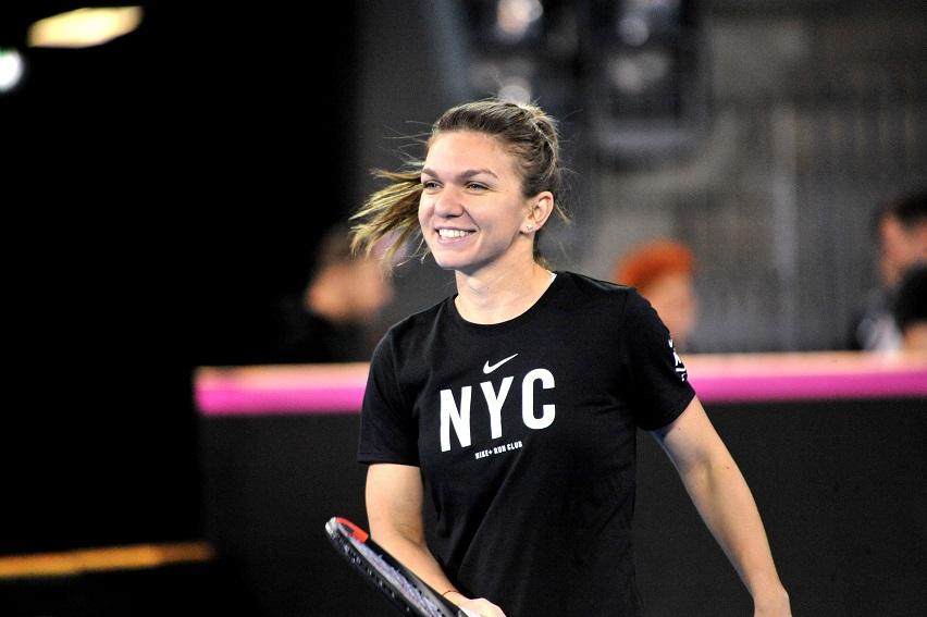 Simona Halep ar putea reveni pe locul 1 WTA la Doha. Cum o poate depăşi pe Wozniacki