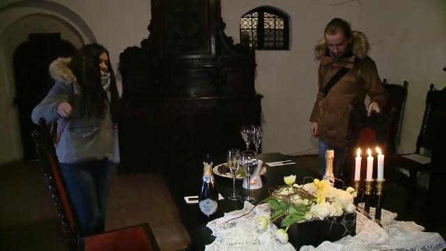 Îndrăgostiții se pot răsfăța, de Valentine's Day, la Castelul Bran