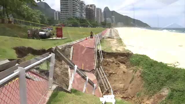 Inundații și alunecări masive de teren, în Rio de Janeiro: 4 morți