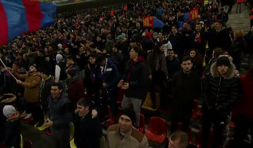 """Atmosferă încinsă pe Arena Națională, la Dinamo-FCSB. """"Lăsaţi-mă, sunt foarte supărat"""""""