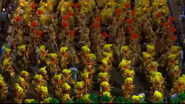 Parada campionilor, la Carnavalul de la Rio. Ultima defilare a școlilor de samba