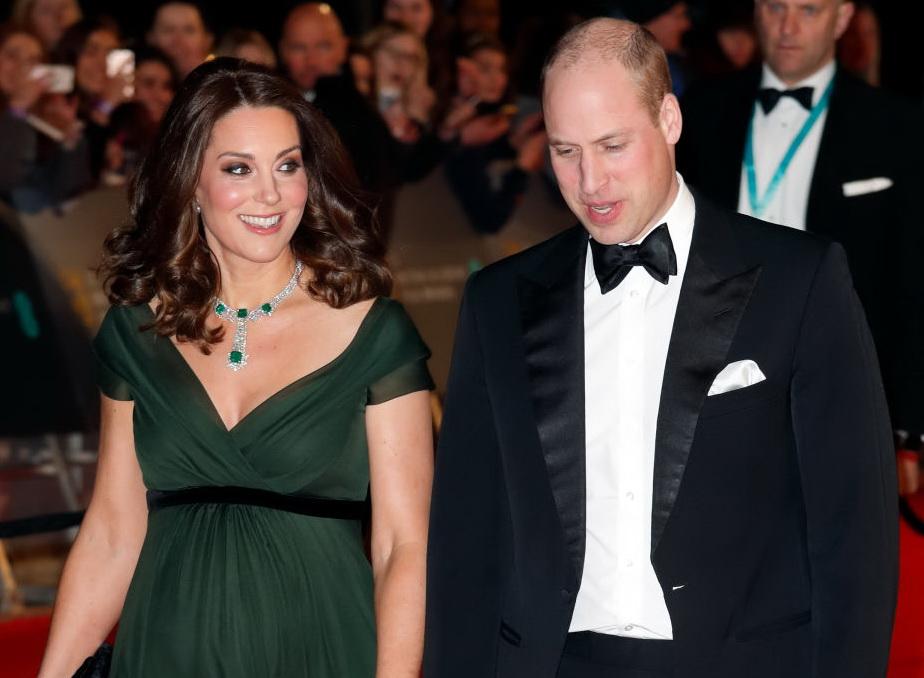 Ducesa de Cambridge și Prințul William la Premiile BAFTA
