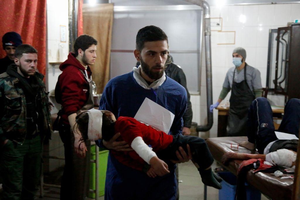 Trump ia în considerare noi acțiuni militare împotriva Siriei, după ce al-Assad ar fi folosit arme chimice în Ghouta de Est