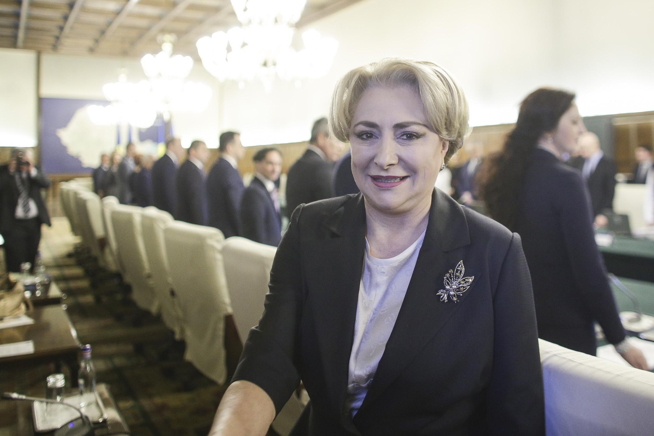"""Dăncilă: """"E bătut în cuie că de la 1 iulie punctul de pensie va creşte"""""""