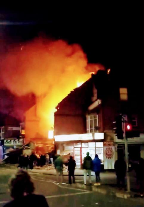 Explozie puternică în Leicester. Patru morți și patru răniți