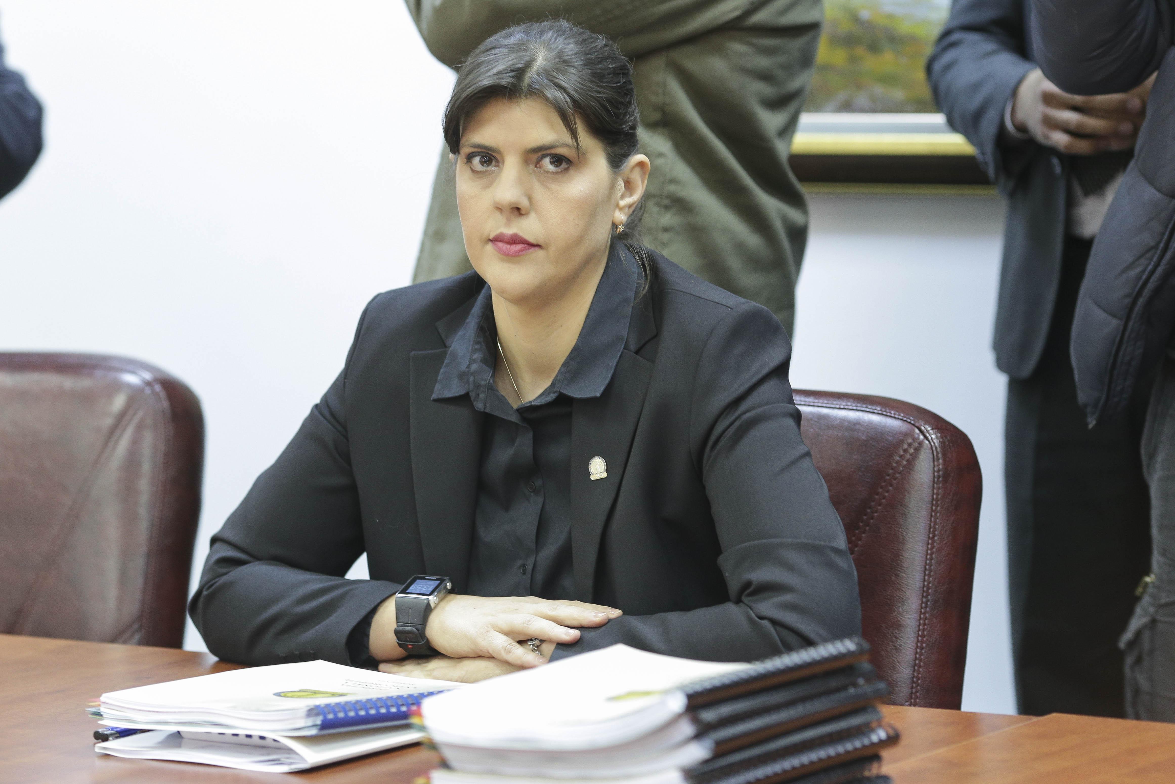 """Laura Kovesi: """"Protocolul nu a dat acces SRI la toate informaţiile din dosare"""""""