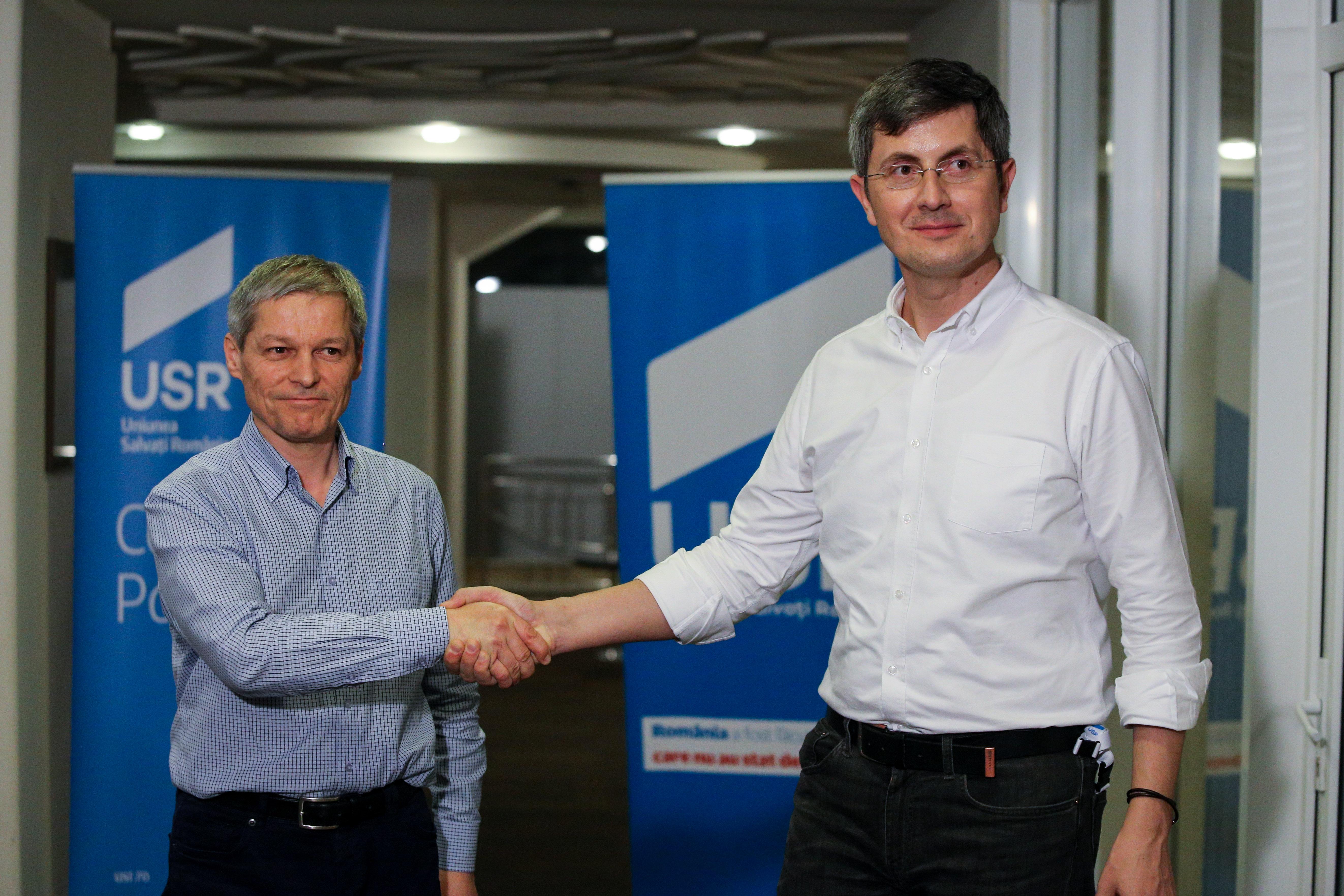 Alianţa USR PLUS: Pact pentru alegeri anticipate, pe iunie 2020, odată cu alegerile locale