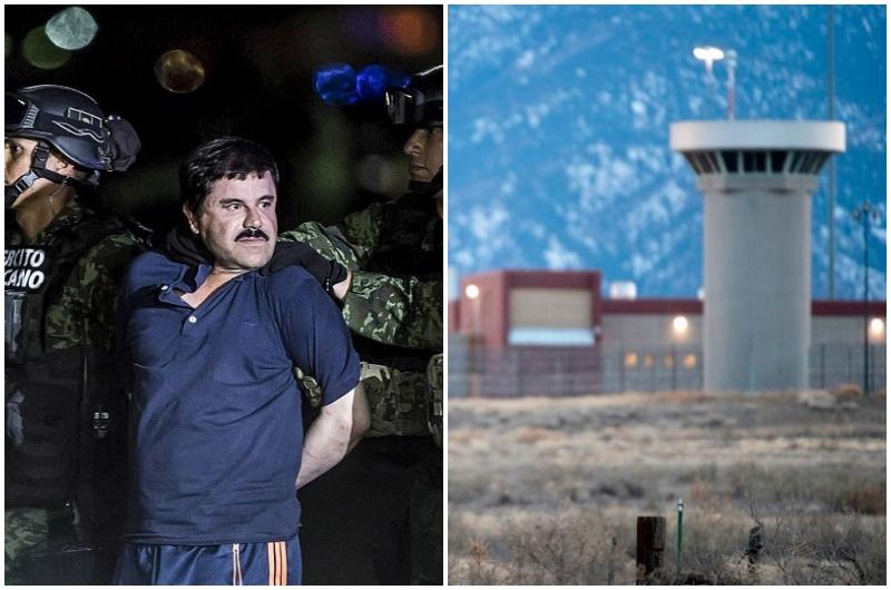 """În interiorul celulei lui El Chapo din """"Alcatrazul din munți"""":"""