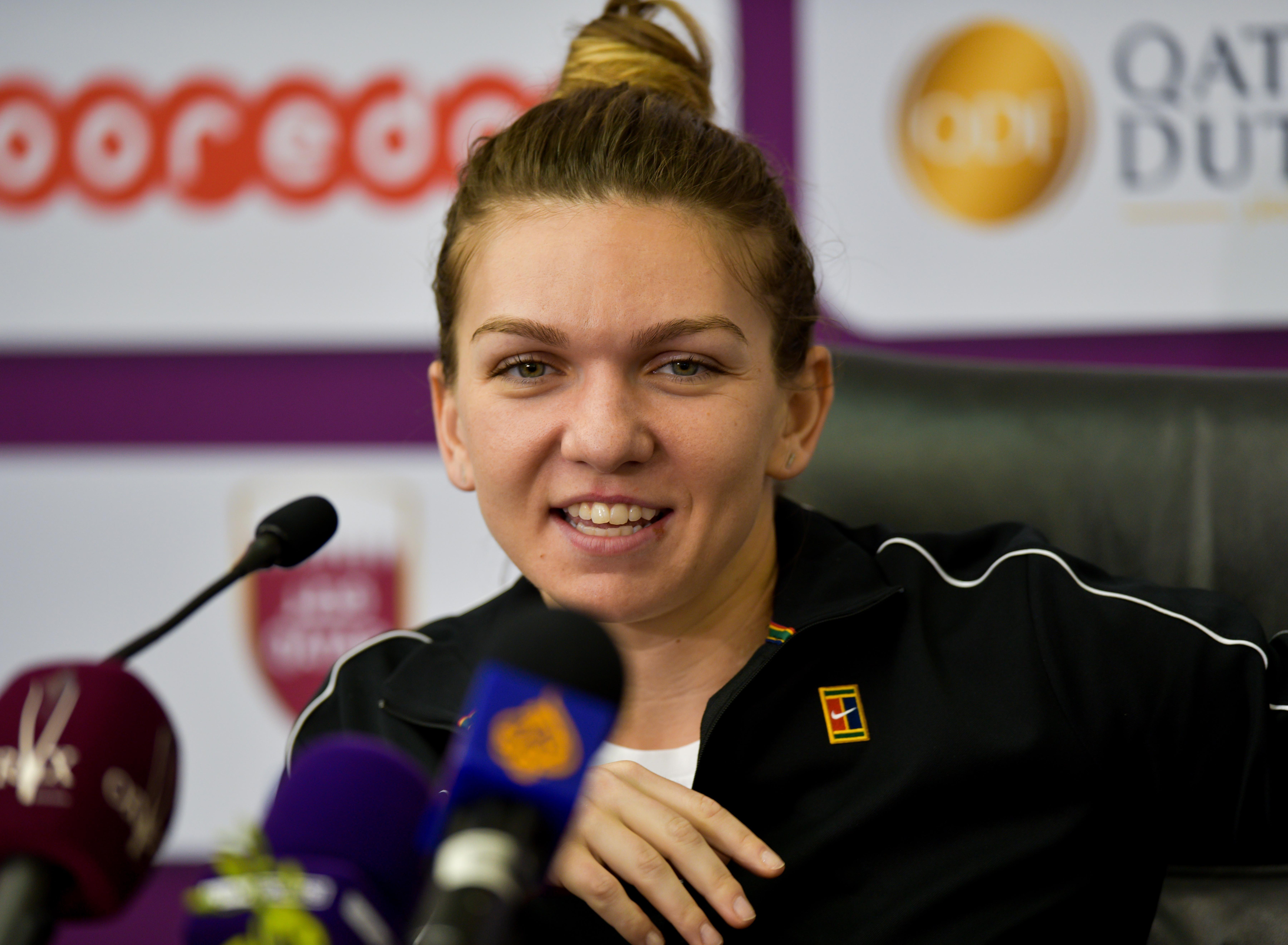 """Simona Halep, despre Bianca Andreescu: """"E tânără şi nu se gândeşte la presiune"""""""