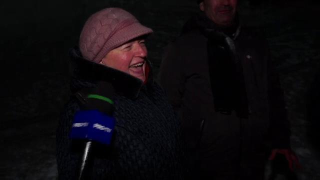 Reacţia unei turiste când află că există Neversea şi la munte.