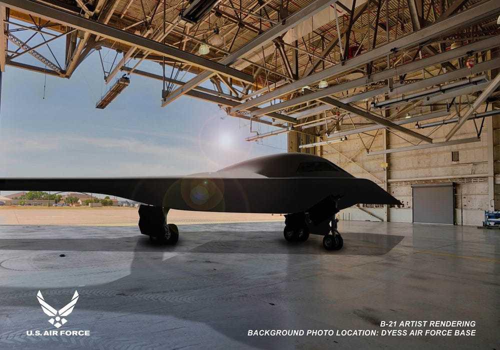 GALERIE FOTO. Cum arată noul bombardier al Forțelor Aeriene ale SUA