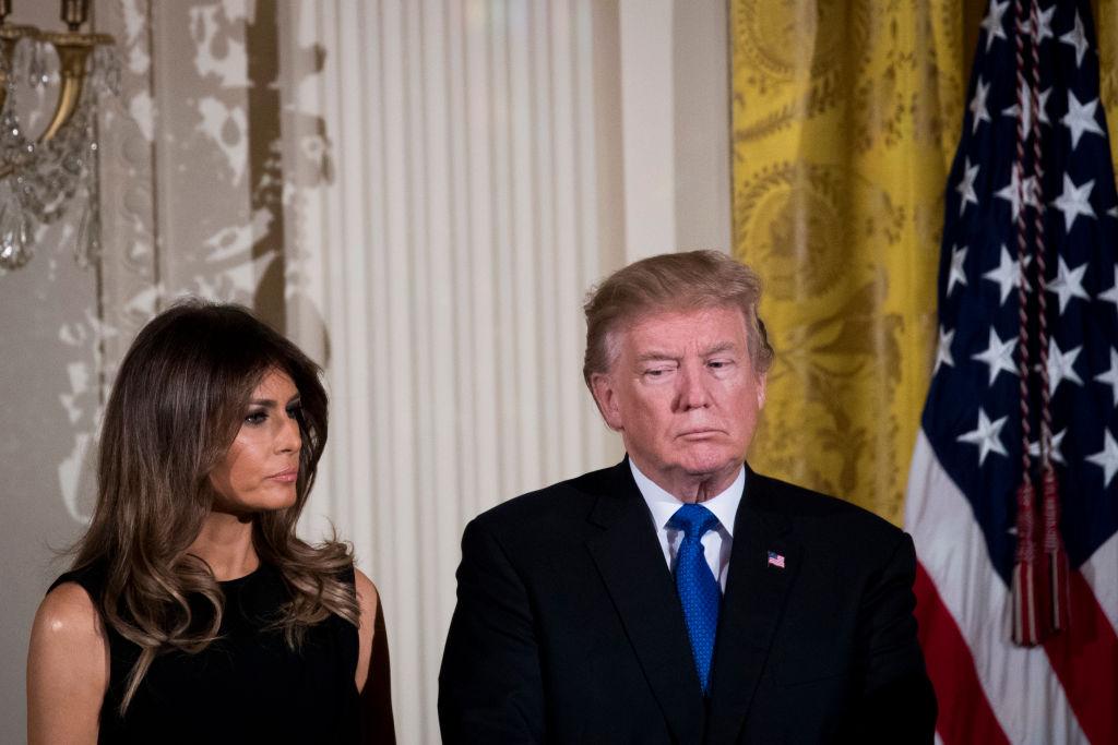 """Melania Trump, chinuită de """"o tuse persistentă"""" după ce a avut COVID. Și-a anulat un eveniment oficial"""