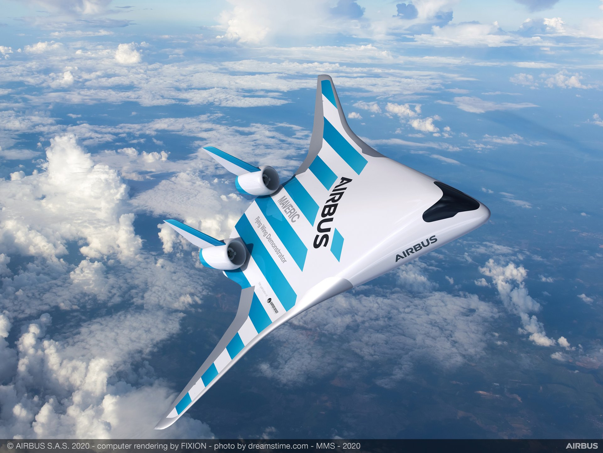 Airbus a prezentat un nou model de avion. Cum ar fi afectați pasagerii de noua formă a avionului