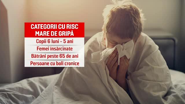 """În plină epidemie, România rămâne fără vaccin antigripal. """"Nu mai avem nicio doză"""""""