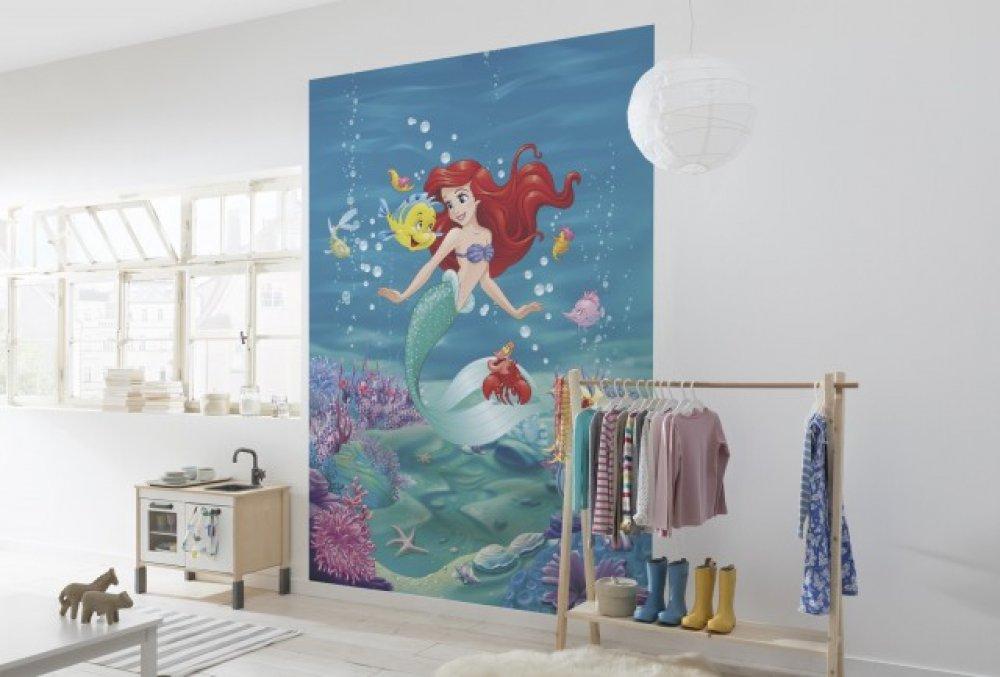 (P) Fototapetele cu desene animate - un colț din paradis inclus în camera copilului!